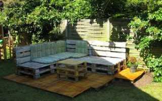Садовая мебель своими руками: особенности сборки и фото удачных самоделок из дерева и не только
