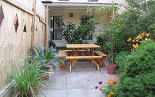 Благоустройство двора: как благоустроить двор частного дома своими руками