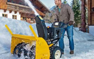 Использование электрической снегоочистительной техники для уборки снега на даче и в частном доме
