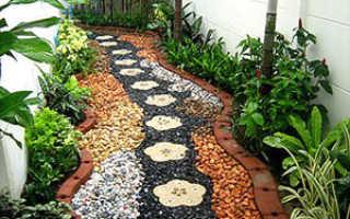 Садовые дорожки: виды, характеристики, варианты дизайна, фото, этапы укладки