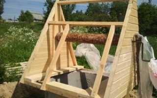 Как своими руками сделать домик на колодец: пошаговая инструкция и фото