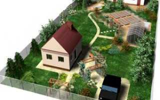 На каком расстоянии можно строить дом от соседних построек и границ участка соседа