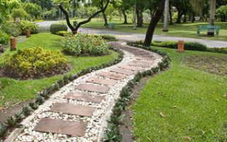 Садовые дорожки своими руками: материалы, чертежи и варианты дизайна, нюансы укладки