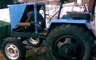 Минитрактор своими руками: самодельные трактора на базе различных мотоблоков, видео примеры