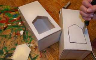 Кормушка для птиц: для чего она нужна и как сделать её из коробки из-под сока