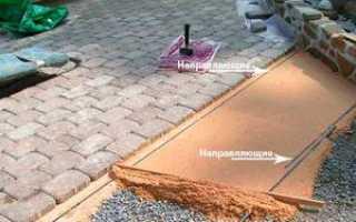 Тротуарная плитка: бетонное основание и укладка брусчатки своими руками