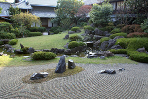 Этапы создания японского сада