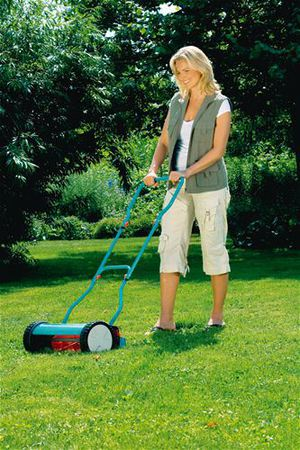 Выбор механической газонокосилки