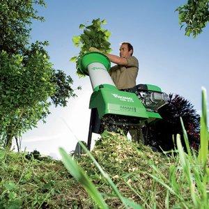 Как пользоваться садовым измельчителем веток