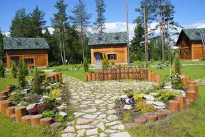 Красивый проект двора