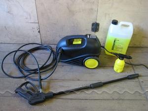 Минимойка HUTER W105-G с забором воды из емкости