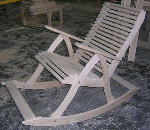 Как правильно собрать кресло качалку