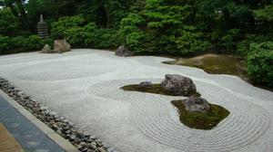 Создание японского сада камней