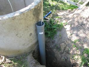 Схема водопровода с использованием колодца