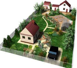 На каком растоянии строить дом
