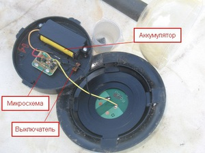 Техническое устройство фонарей на солнечных батареях