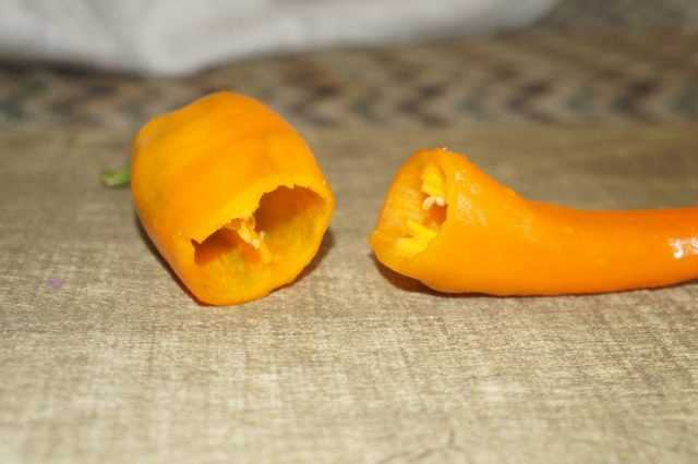 Перец 'Ramiro' тонкостенный, но очень вкусный