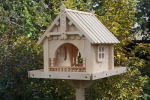 Описание покупных кормушек для птиц