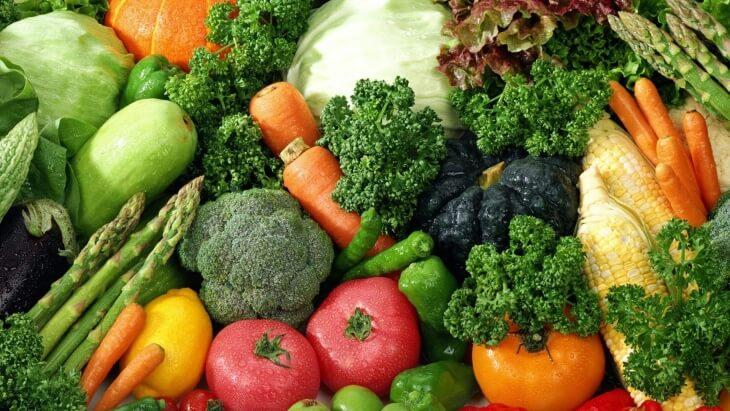 Хороший урожай овощей