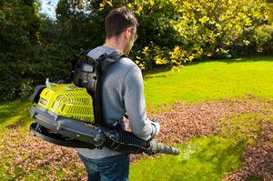 Как устроен садовый пылесос