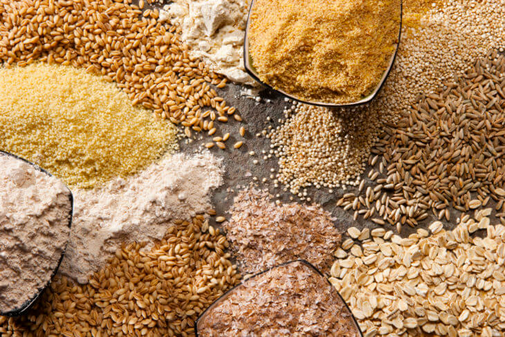 Разнообразие зерновых культур