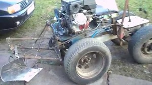 Сборка самодельного мини трактора