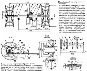 Нюансы изготовления чертежа для изготовления мини трактора из мотоблока Нева