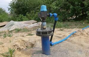 Оголовок для водяной скважины