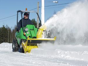 Тип снегоуборочной техники по типу передвижения