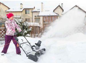 Электрическая снегоуборочная машина Hyundai S 400