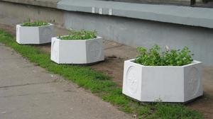 Вазон бетонный для цветов