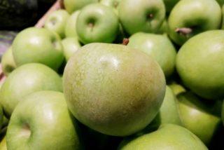 Загар (поверхностный ожог, побурение кожицы) яблока