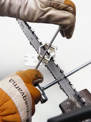 Приборы для заточки цепи бензопилы